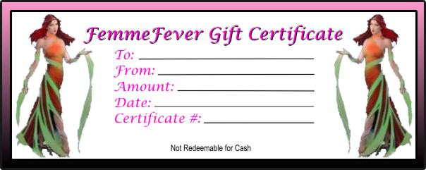 Gift Certificate - You Choose the Amount (Minimum $25)